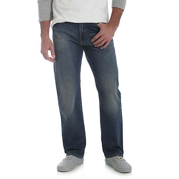 Men's Relaxed Fit Straight Leg Jean