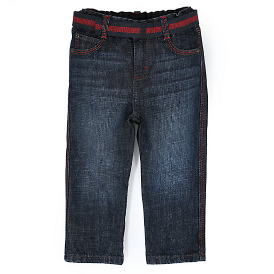 Boy's Belted Carpenter Jean (2T-5T)