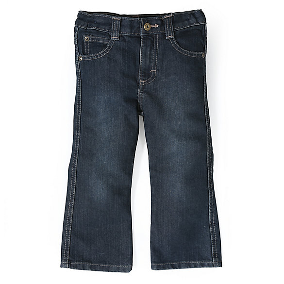 Toddler Boy's Relaxed Boot Cut Jean