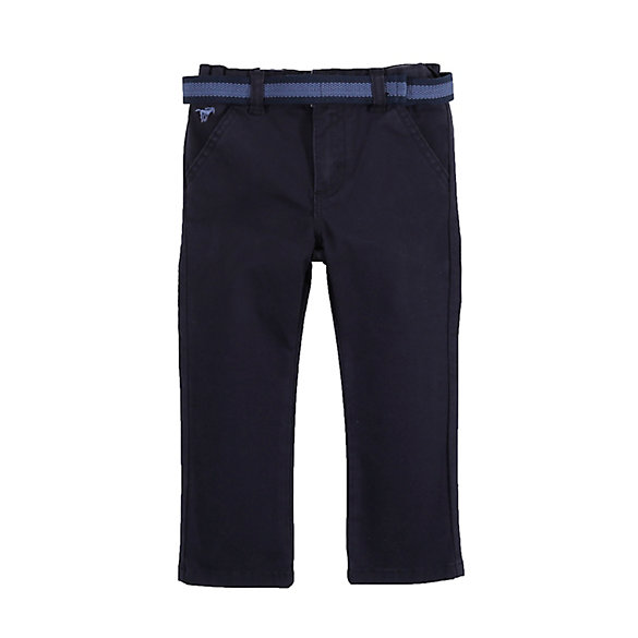 Toddler Boy's Flat Front Pant