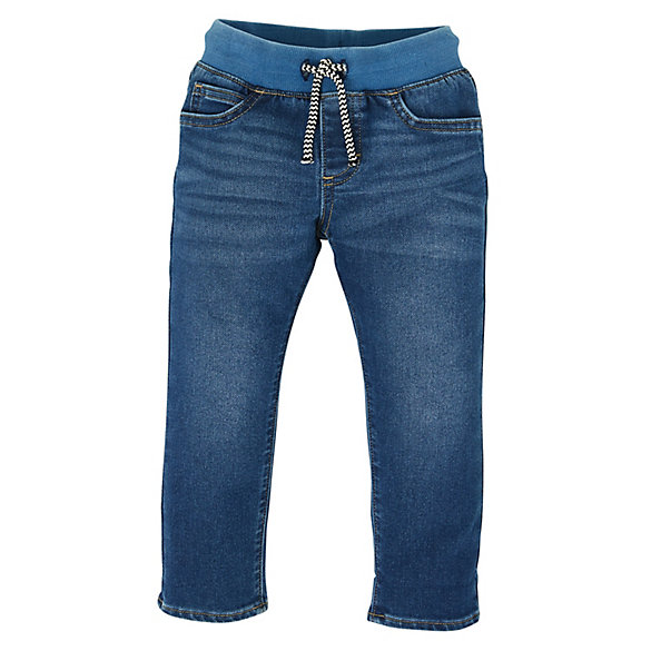 Toddler Boy's Denim Jogger Pant