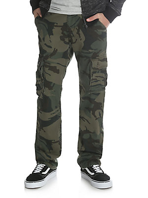 Boy's Slim Straight Stretch Cargo Pant (8-16)