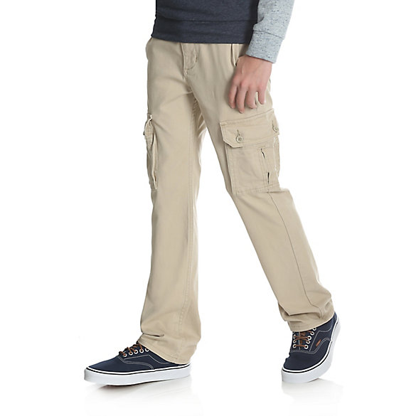 Boy's Slim Straight Stretch Cargo Pant (Husky)