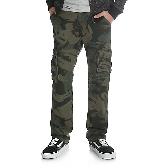 Boy's Slim Straight Stretch Cargo Pant (4-7)