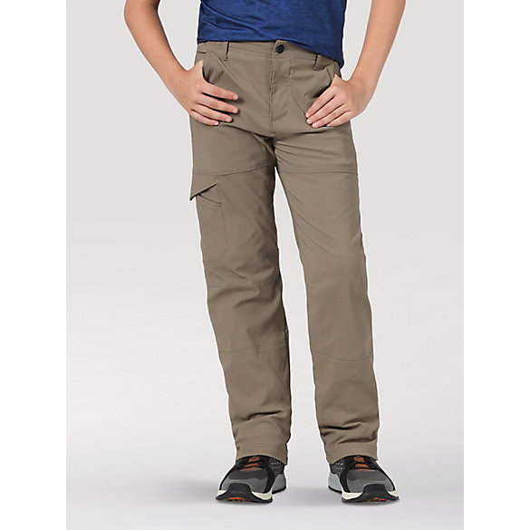 Wrangler® All Terrain Gear™ Boy's Fleece Lined Synthetic Pant (4-7)