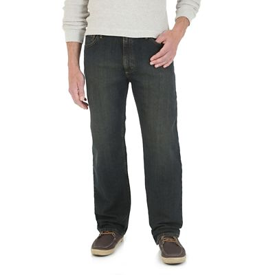 Wrangler 174 Advanced Comfort Relaxed Fit Jean Mens Jeans