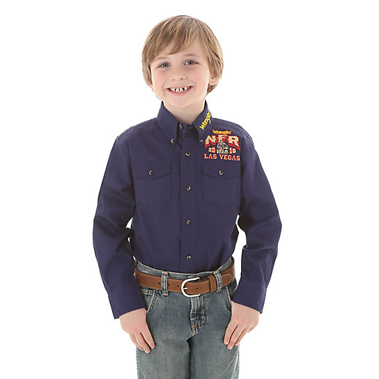 Boy's NFR Button-Up Shirt