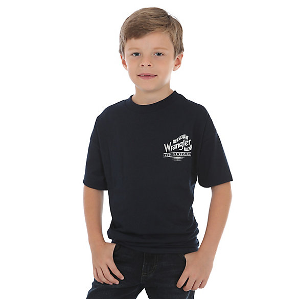 Boy's Wrangler® Western Back Graphic T-Shirt