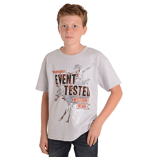 Boy's Event Tested Graphic T-Shirt