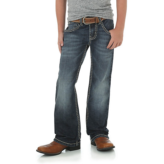 Boy's Rock 47® by Wrangler® Boot Cut Jean (8-16)