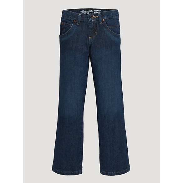 Boy's Wrangler Retro® Straight Fit Jean (8-16)