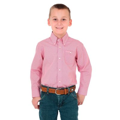 Boy S Tough Enough To Wear Pink Long Sleeve Western