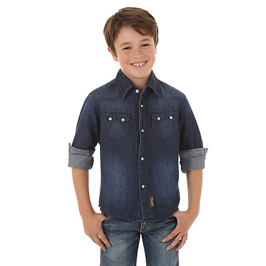 Boy's Wrangler Retro Denim Shirt