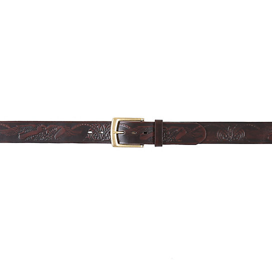 Men's Eagle Embossed Belt