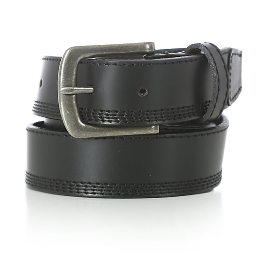 Wrangler® Quad Stitch Belt - Black