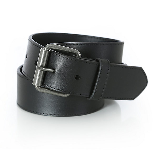 Wrangler® Mens Belt with Free Key Ring - Black