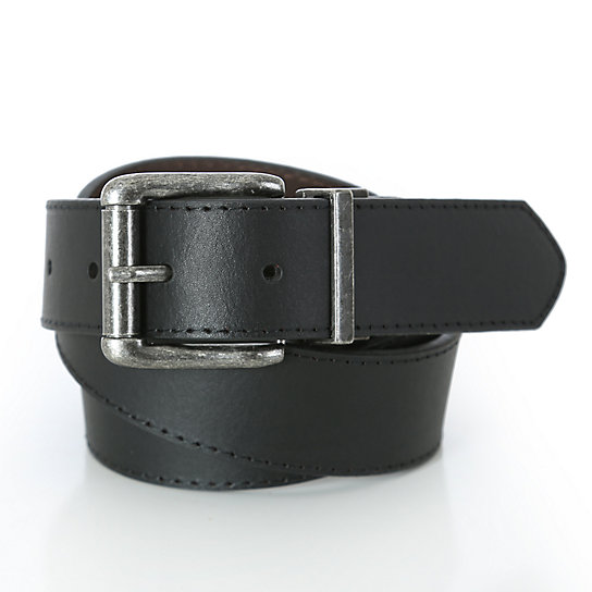 Wrangler® Mens Basic Reversible Belt - Black/Brown