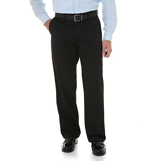 Wrangler® Comfort Solutions Series - Flat Front Casual Pant