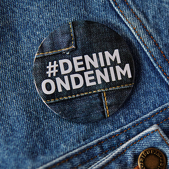 #denimondenim Button