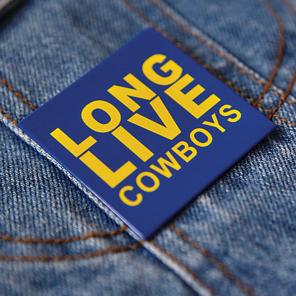 Long Live Cowboys® Button