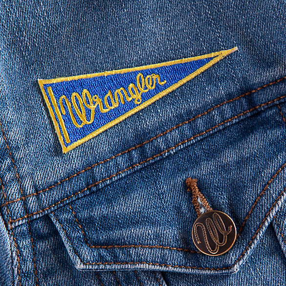 Wrangler Pennant Patch