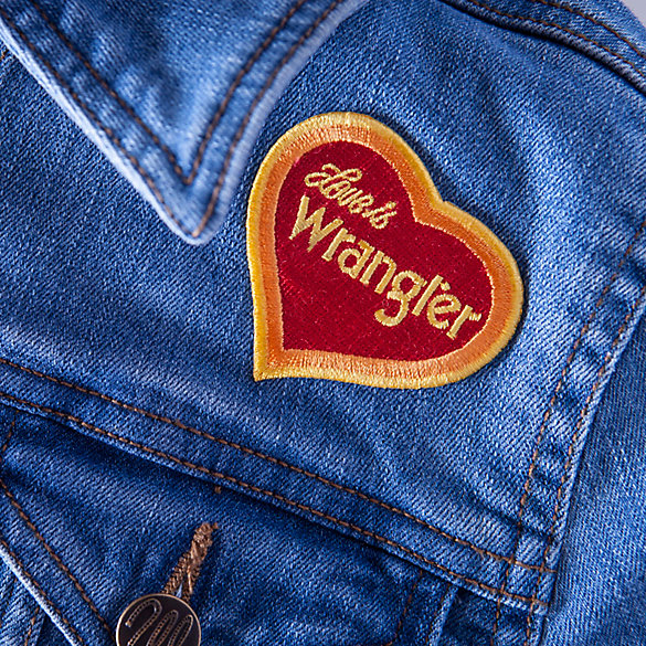 Love is Wrangler Patch