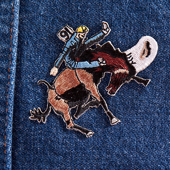 Bucking Bronc Patch