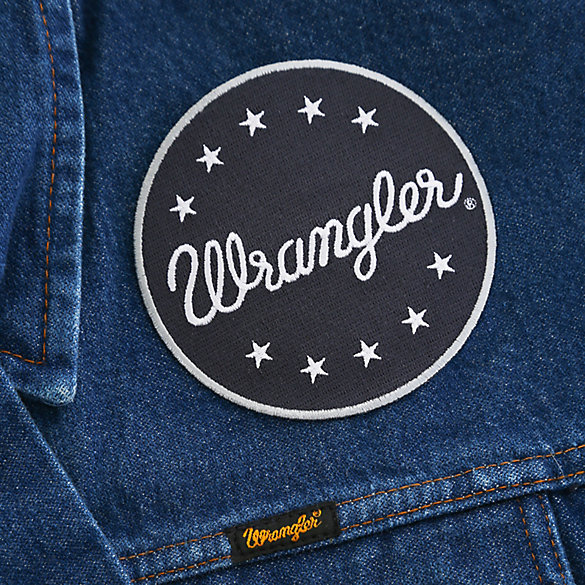 Star Script Circle Patch