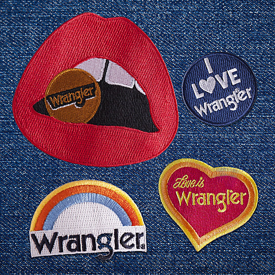 70's/80's Patches Set - 4 Patches