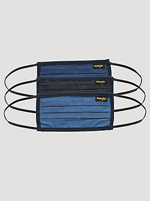 Wrangler® Reusable Face Masks (3-pack)