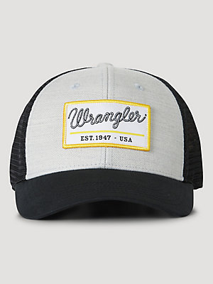 Wrangler® x FFA® Collection: Men's Front Patch Twill Hat