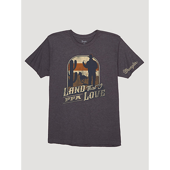 Wrangler® x FFA® Collection: Men's Land That I Love Graphic T-Shirt