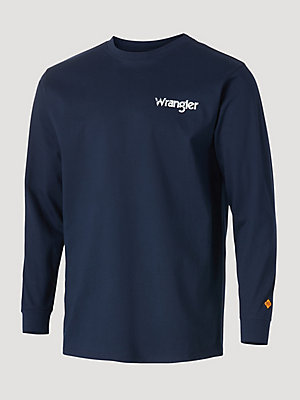 Wrangler® FR Flame Resistant Long Sleeve Graphic T-Shirt