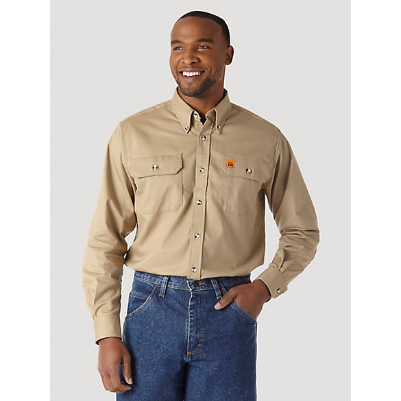 Wrangler® RIGGS Workwear® FR Flame Resistant Work Shirt
