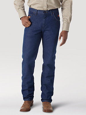 Men's Wrangler® FR Flame Resistant Regular Fit Lightweight Denim Jean