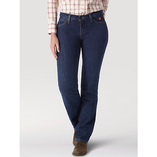 Wrangler® FR Flame Resistant Boot Cut Jean