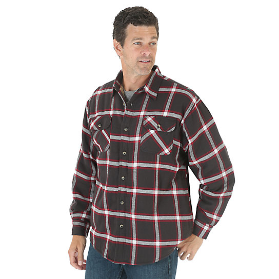 Wrangler® Heavyweight Lined Shirt (Big Sizes)