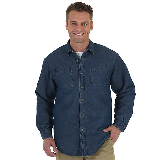 Wrangler® Shirt Jacket (Big Sizes)