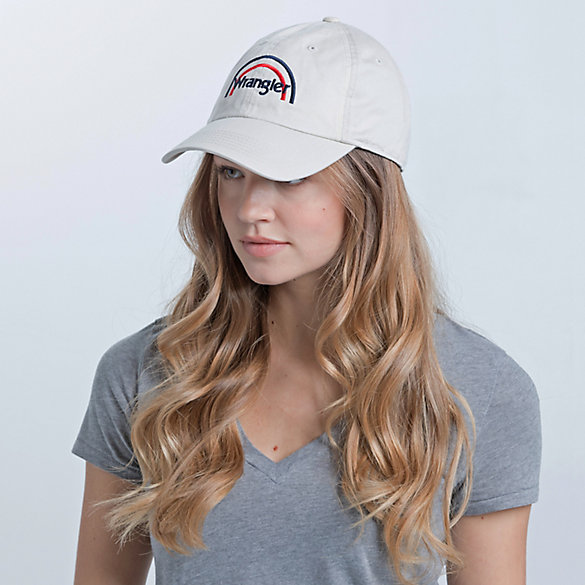 Women's Rainbow Logo Cap