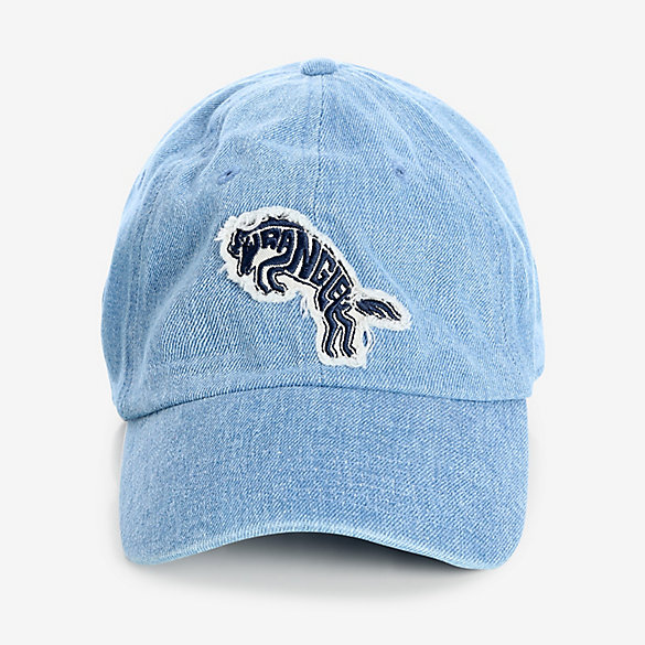 Vintage Washed Denim Horse Patch Cap