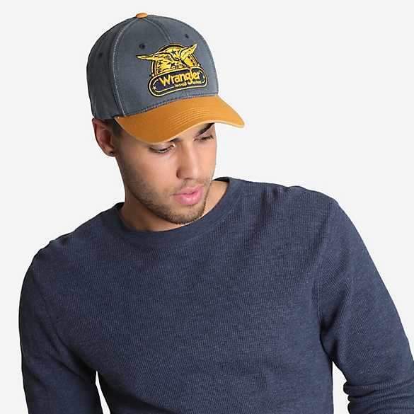 Men's Vintage Washed Wings Patch Cap