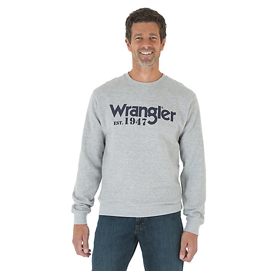 Wrangler® Logo Crewneck Sweatshirt (Big Sizes)