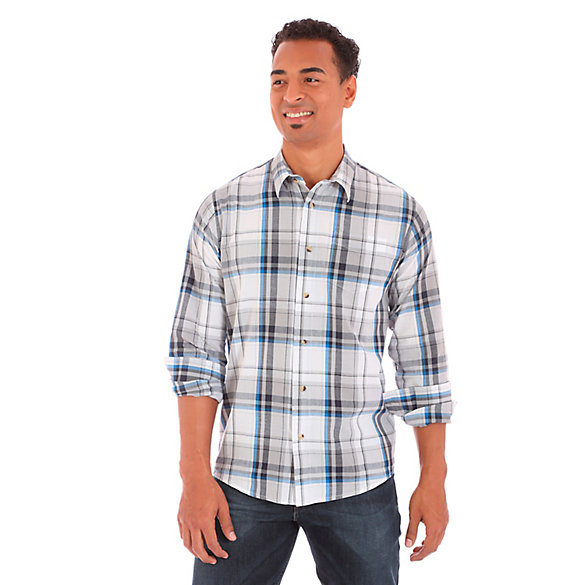 Men's Wrangler Jeans Co.® Button Down Long Sleeve One Spade Pocket ...