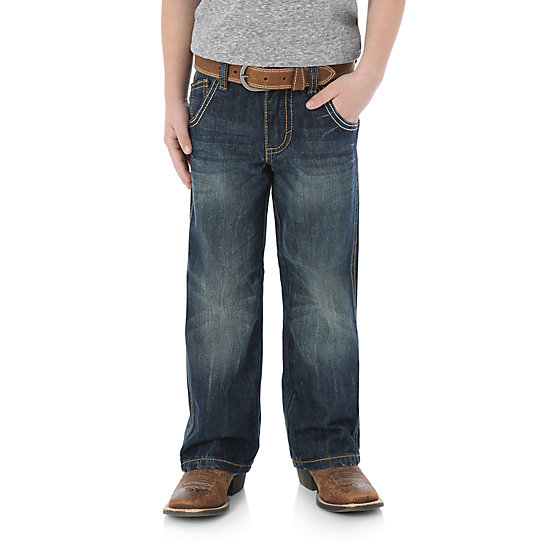 Boy's Wrangler Retro® Boot Cut Limited Edition Relaxed Jean (1T-3T)