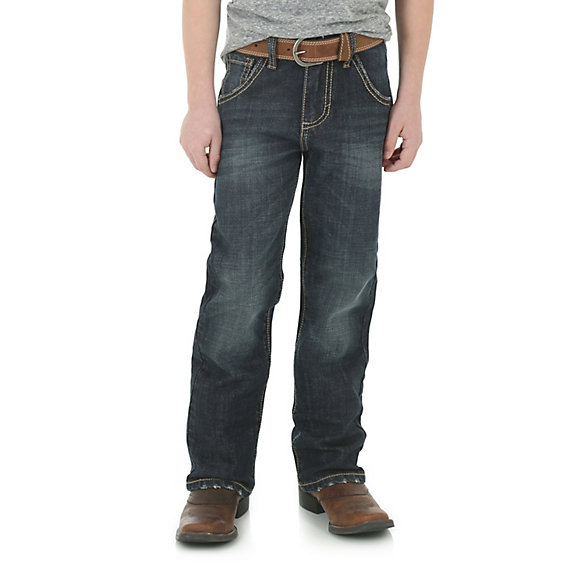 Boy's Wrangler Retro® Boot Cut Limited Edition Relaxed Boot Jean (4-7)