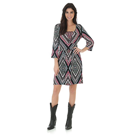 Rock 47® by Wrangler® Banded Waist Dress