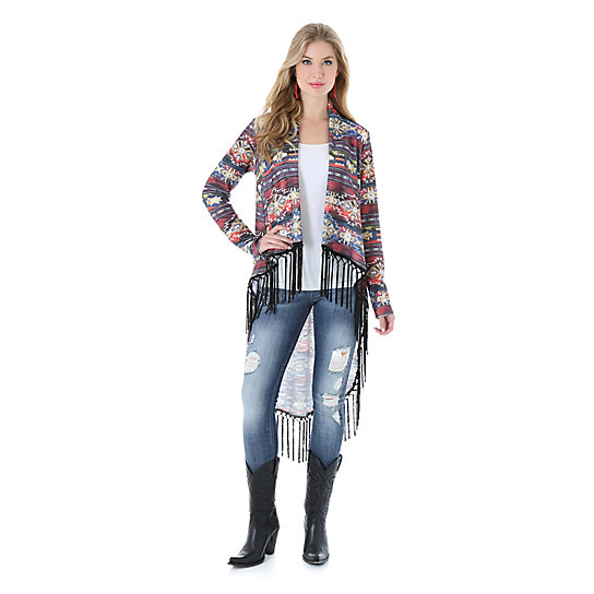 Rock 47® by Wrangler® Long Sleeve Printed Duster