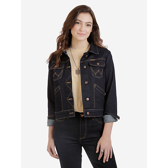 Women's Wrangler Retro® Premium Heritage Denim Jacket