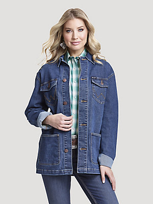 Women's Wrangler Retro® Denim Barn Jacket