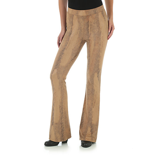 Fit and Flare Palazzo Pant